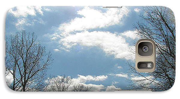 Galaxy Case featuring the photograph Angels On High by Pamela Hyde Wilson