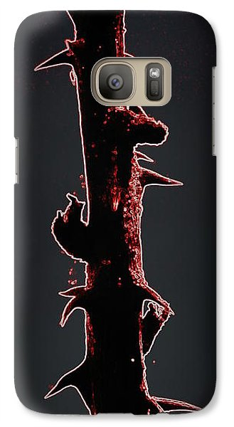 Galaxy Case featuring the photograph Anger by Renee Trenholm