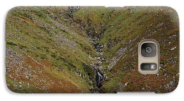 Galaxy Case featuring the photograph Annascaul Mountains by Barbara Walsh