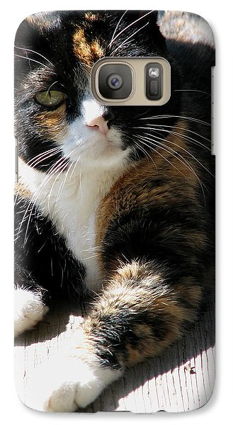 Galaxy Case featuring the photograph Annie Banannie by Rory Sagner