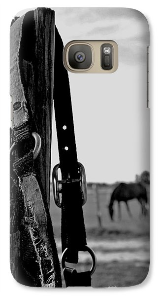 Galaxy Case featuring the photograph Anticipating by Karen Harrison