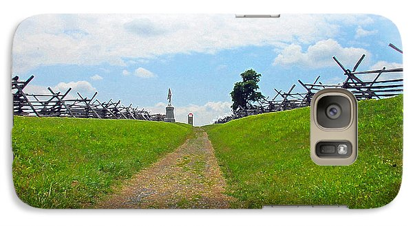 Galaxy Case featuring the photograph Antietam Battle Of Bloody Lane by Cindy Manero