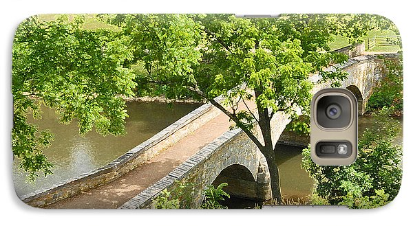 Galaxy Case featuring the photograph Antietam's Burnside Bridge by Cindy Manero