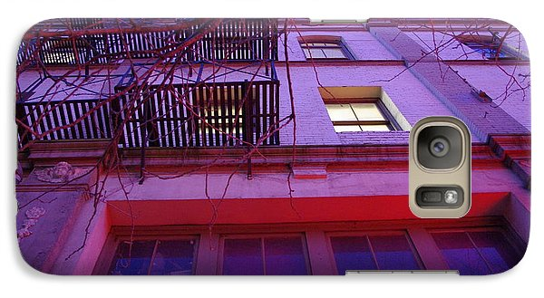 Galaxy Case featuring the photograph Apartment Building by Marilyn Wilson