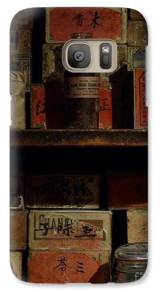 Galaxy Case featuring the photograph Apothecary by Newel Hunter