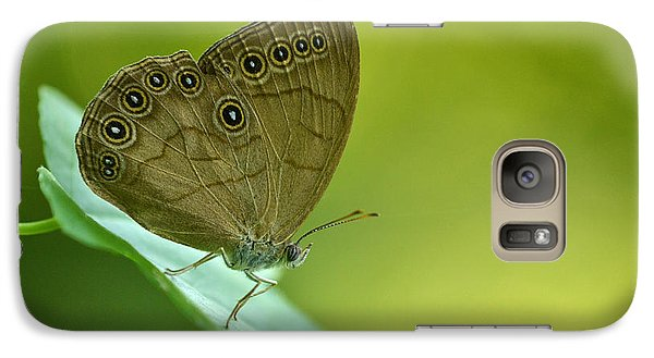 Galaxy Case featuring the photograph Appalachian Brown by JD Grimes