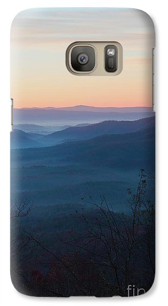 Galaxy Case featuring the photograph Appalachian Sunrise by Laurinda Bowling