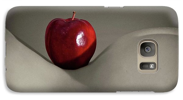 Galaxy Case featuring the photograph Apple Bottom by Angelique Olin