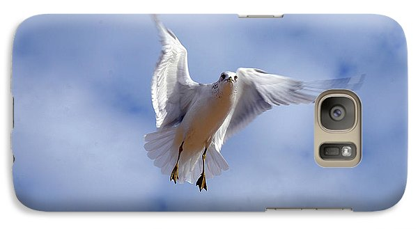 Galaxy Case featuring the photograph Applying Brakes In Flight by Clayton Bruster