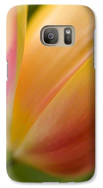 Tulip Galaxy S7 Case - April Grace by Mike Reid