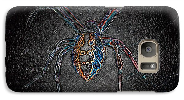 Galaxy Case featuring the photograph Arachnophobia by Patrick Witz