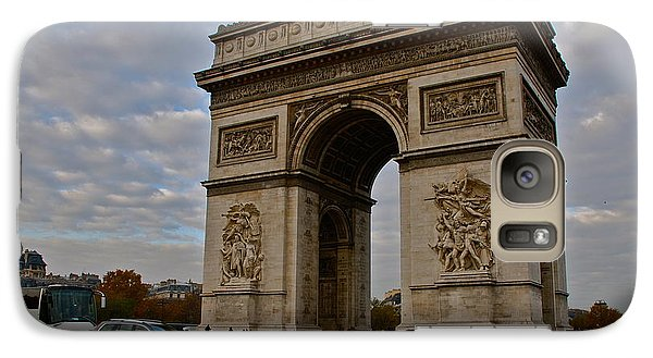 Galaxy Case featuring the photograph Arc De Triomphe by Eric Tressler
