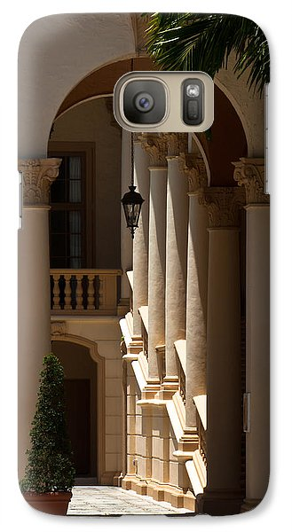 Galaxy Case featuring the photograph Arches And Columns At The Biltmore Hotel by Ed Gleichman