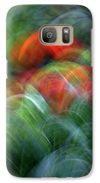 Galaxy Case featuring the photograph Arches Of Flowers by Raffaella Lunelli