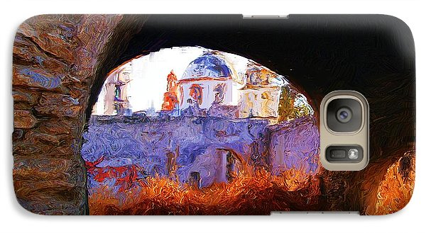 Galaxy Case featuring the photograph Arches On The Side Of The Church Of Atotonilco by John  Kolenberg