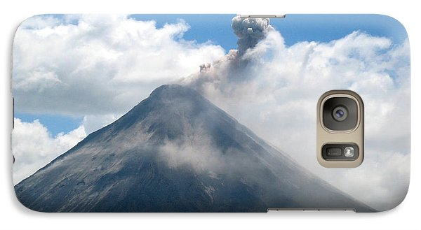 Galaxy Case featuring the photograph Arenal Eruption by Eric Tressler