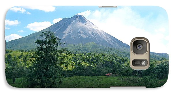 Galaxy Case featuring the photograph Arenal by Eric Tressler