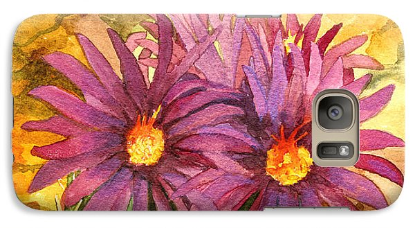 Galaxy Case featuring the painting Arizona Pincushion  by Eric Samuelson