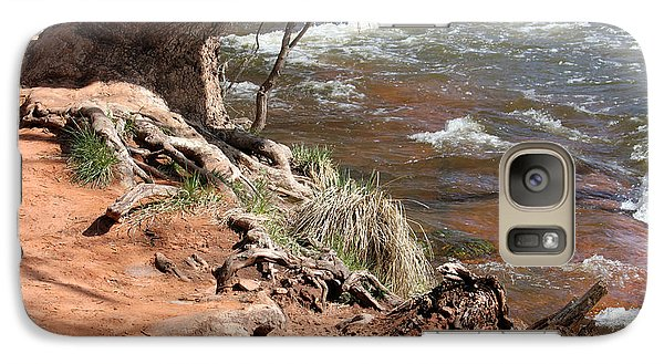 Galaxy Case featuring the photograph Arizona Red Water by Debbie Hart
