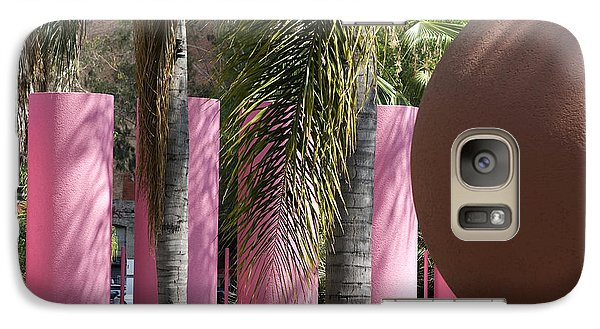 Galaxy Case featuring the photograph Around In Pershing Square by Lorraine Devon Wilke
