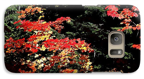 Galaxy Case featuring the photograph Arrival Of Autumn by Nick Kloepping