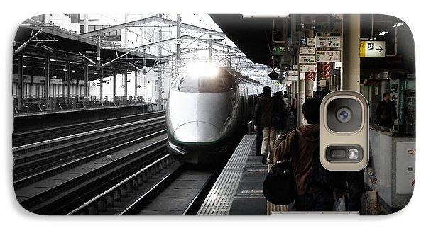 Train Galaxy S7 Case - Arriving Train by Naxart Studio