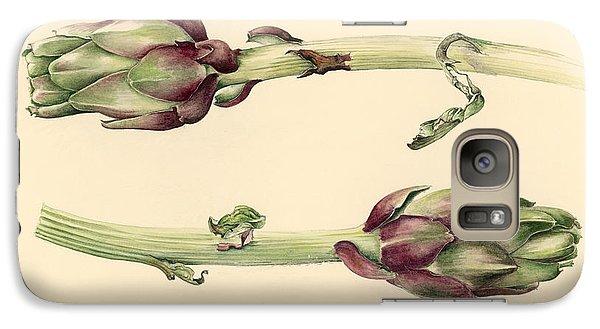 Artichokes Galaxy S7 Case by Alison Cooper