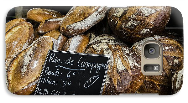 Galaxy Case featuring the photograph Artisan Bread by Marta Cavazos-Hernandez