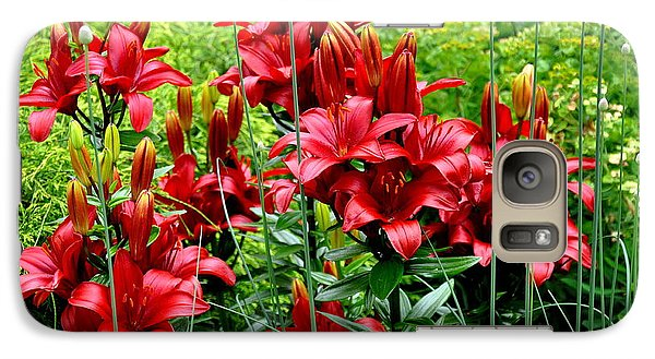 Galaxy Case featuring the photograph Asiatic Lilies 2 by Tanya  Searcy