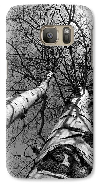 Galaxy Case featuring the photograph Aspen Glow by Colleen Coccia