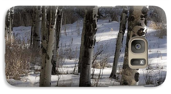 Galaxy Case featuring the photograph Aspen Grove by Angelique Olin