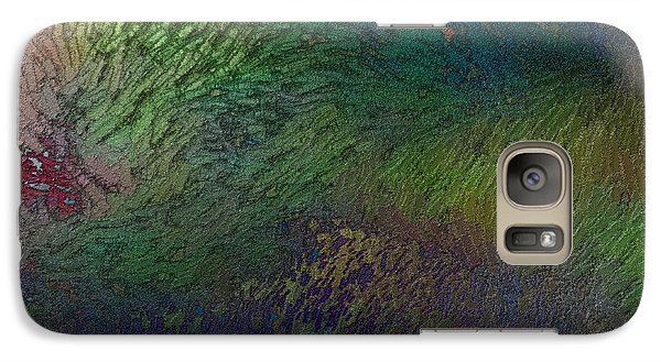Galaxy Case featuring the digital art Assiduato by Jeff Iverson