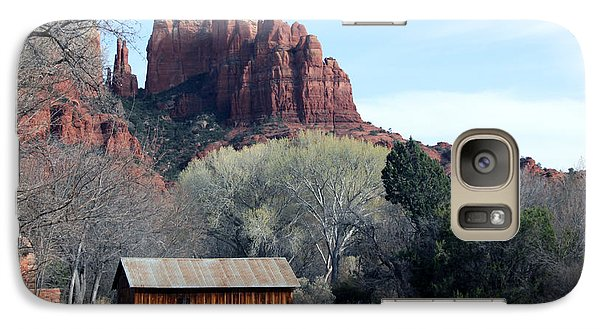 Galaxy Case featuring the photograph At The Base by Debbie Hart