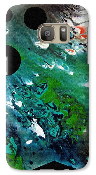 Galaxy Case featuring the painting Atlantis by Robert G Kernodle