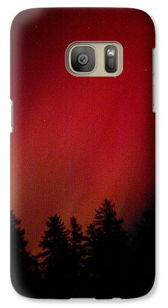 Galaxy Case featuring the photograph Aurora 01 by Brent L Ander