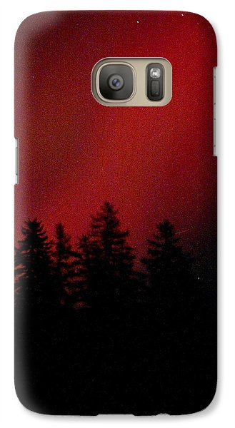 Galaxy Case featuring the photograph Aurora 02 by Brent L Ander