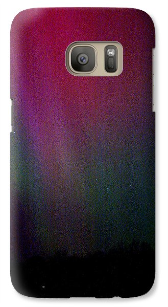 Galaxy Case featuring the photograph Aurora 03 by Brent L Ander