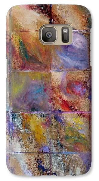 Galaxy Case featuring the painting Autumn by Bonnie Goedecke