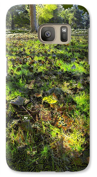 Galaxy Case featuring the digital art Autumn Colors by Anne Mott