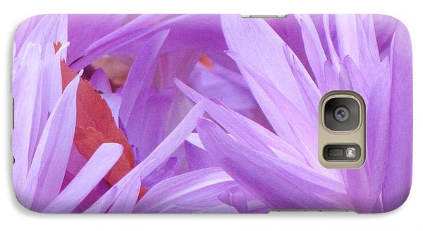 Galaxy Case featuring the photograph Autumn Crocus by Michele Penner