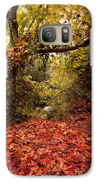 Galaxy Case featuring the photograph Autumn Dreams by Nadya Ost