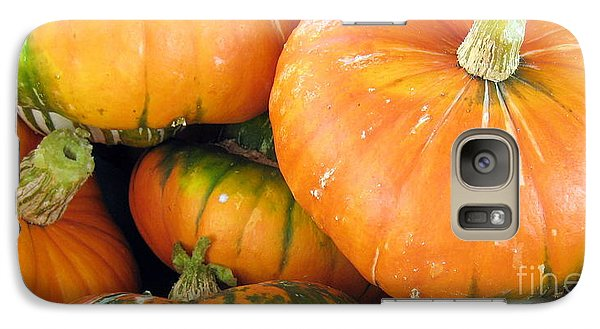 Galaxy Case featuring the photograph Autumn Harvest by Kathy Bassett