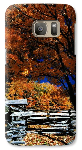 Galaxy Case featuring the photograph Autumn In Holderness by Rick Frost