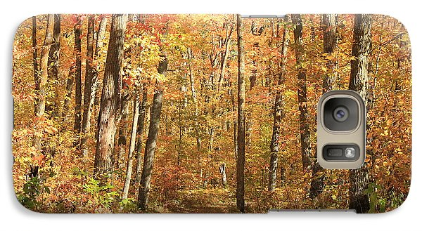 Galaxy Case featuring the photograph Autumn In Minnesota by Penny Meyers