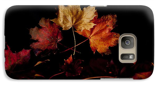 Galaxy Case featuring the photograph Autumn Leaves by Beverly Cash