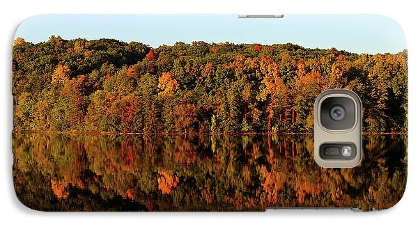 Galaxy Case featuring the photograph Autumn Mirror by Rachel Cohen