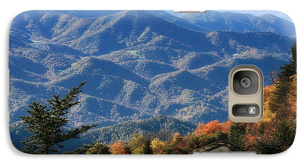 Galaxy Case featuring the photograph Autumn On The Blue Ridge Parkway by Lynne Jenkins