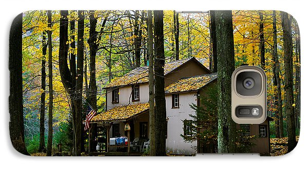 Galaxy Case featuring the photograph Autumn Peace by Cheryl Perin