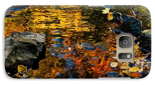 Galaxy Case featuring the photograph Autumn Reflections by Cheryl Baxter