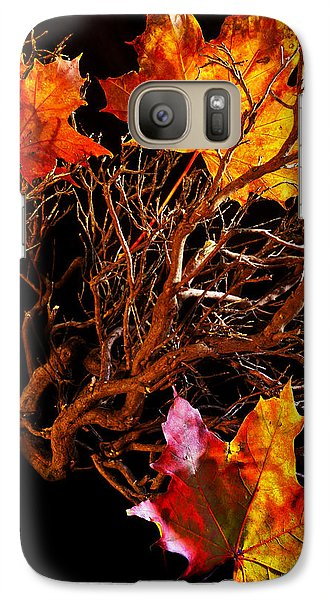 Galaxy Case featuring the photograph Autumnal Feelings by Beverly Cash
